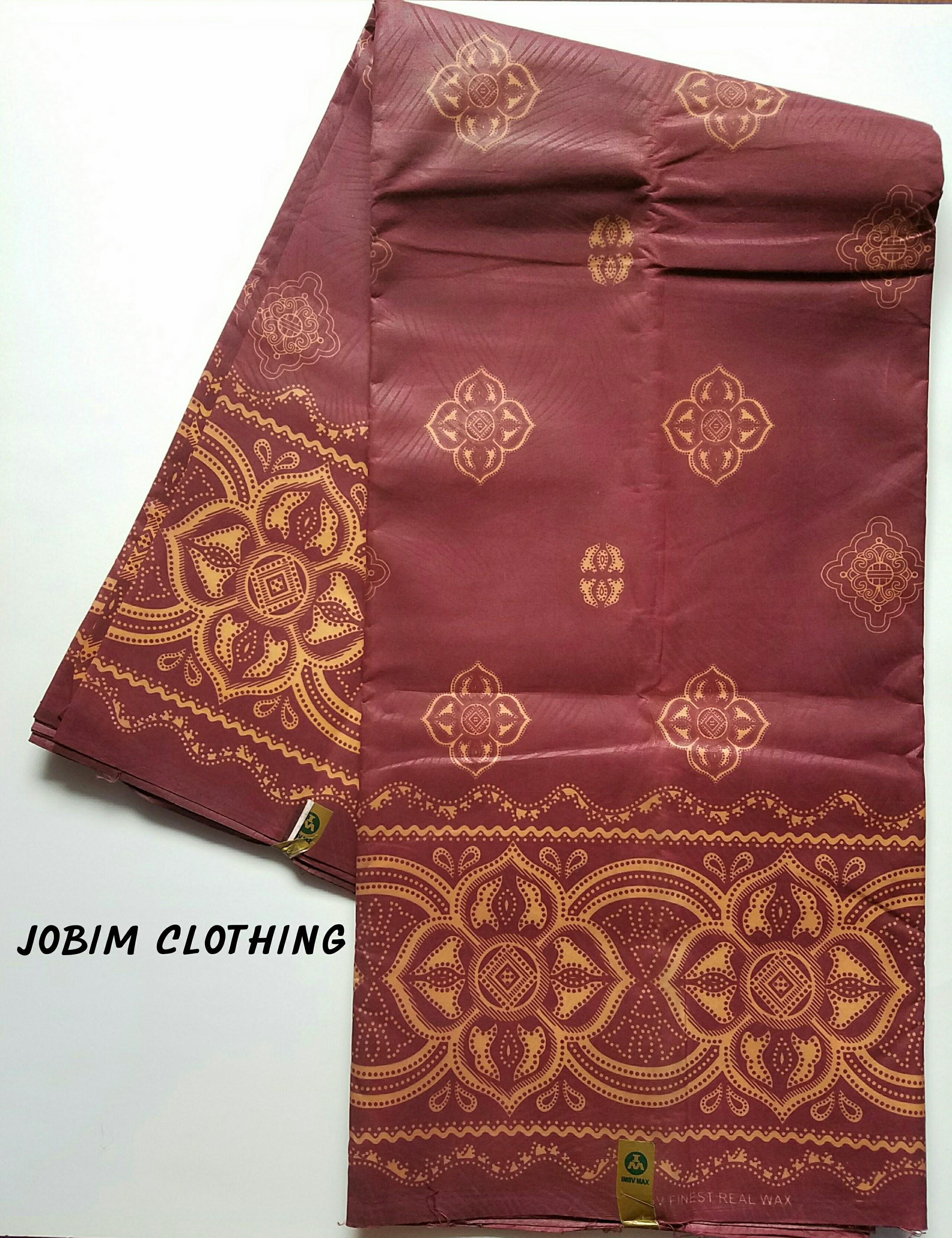 Jobim Clothing Ankara Fabric 100