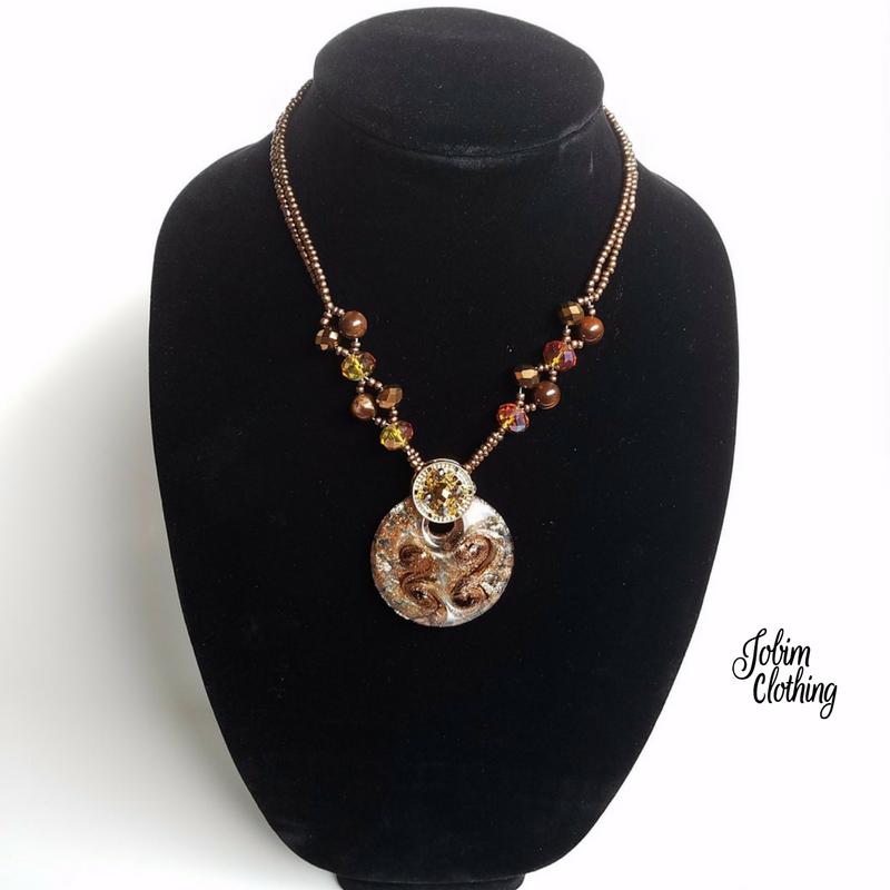 Jobim Clothing Jewelry Set 203 - 2