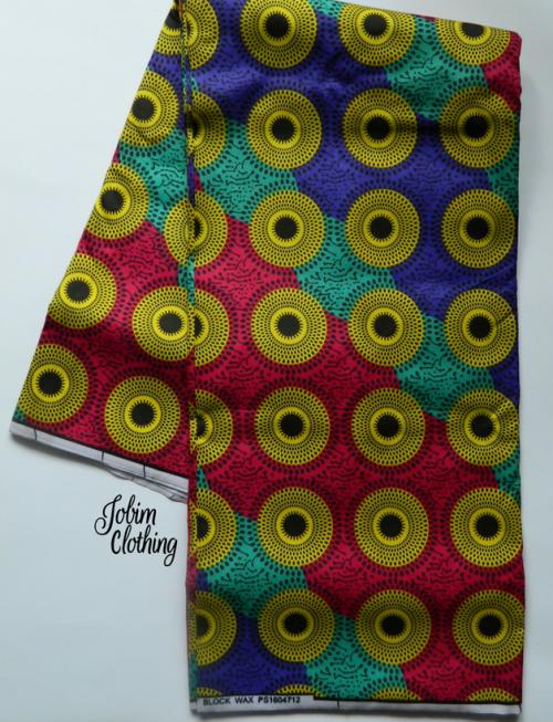 Jobim Clothing Ankara Fabric 126