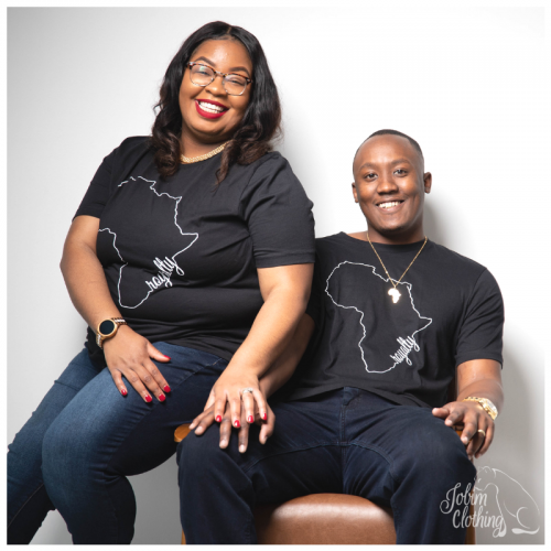 Royalty TShirt Couple - Jobim Clothing