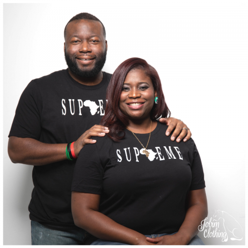 Supreme Couple Tshirt - Jobim Clothing