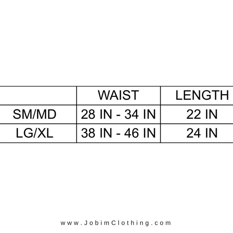 Skirt Size Chart - Jobim Clothing