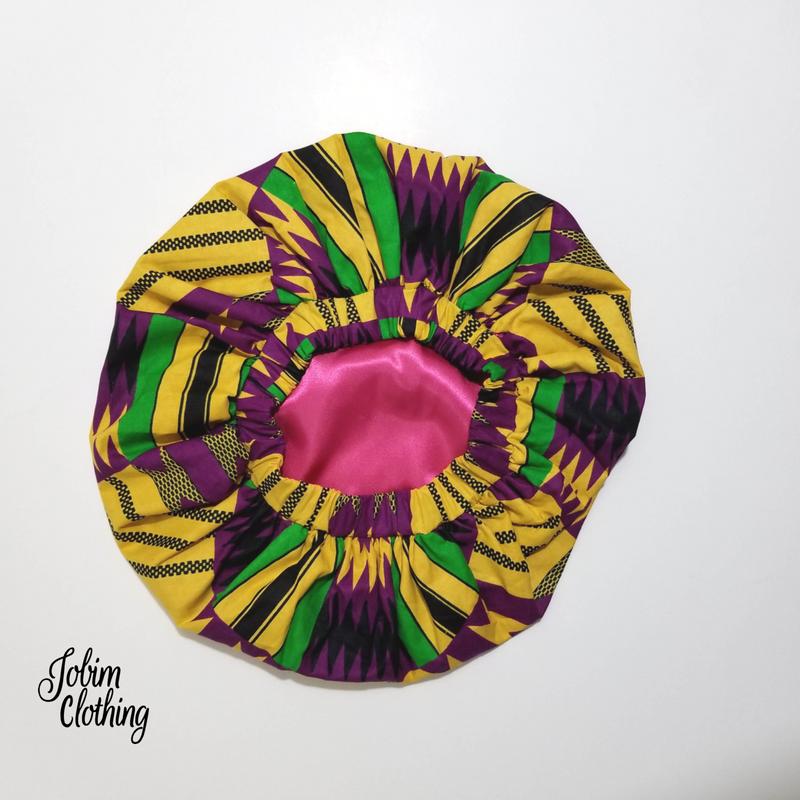 Khenya Ankara Bonnet - Jobim Clothing