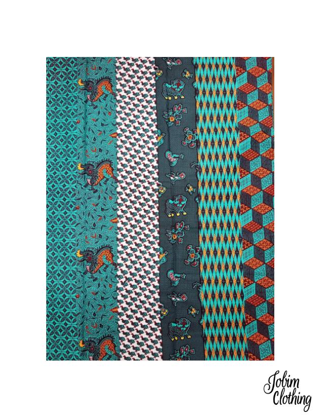 Jobim Clothing Ankara Fabric 148-2