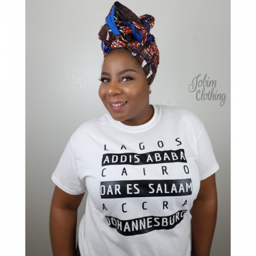 African Cities Tee - Jobim Clothing