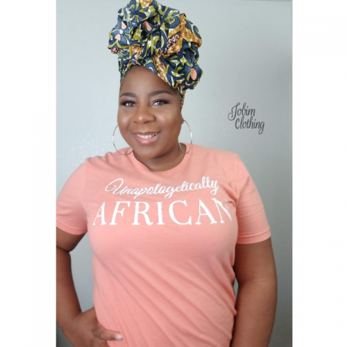 Unapologetically African TShirt - Jobim Clothing