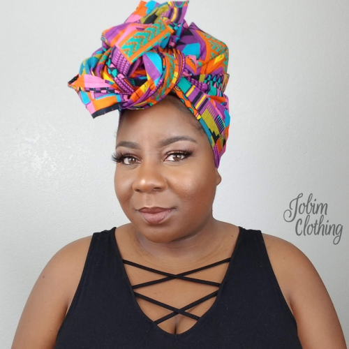 Akua Head Wrap - Jobim Clothing
